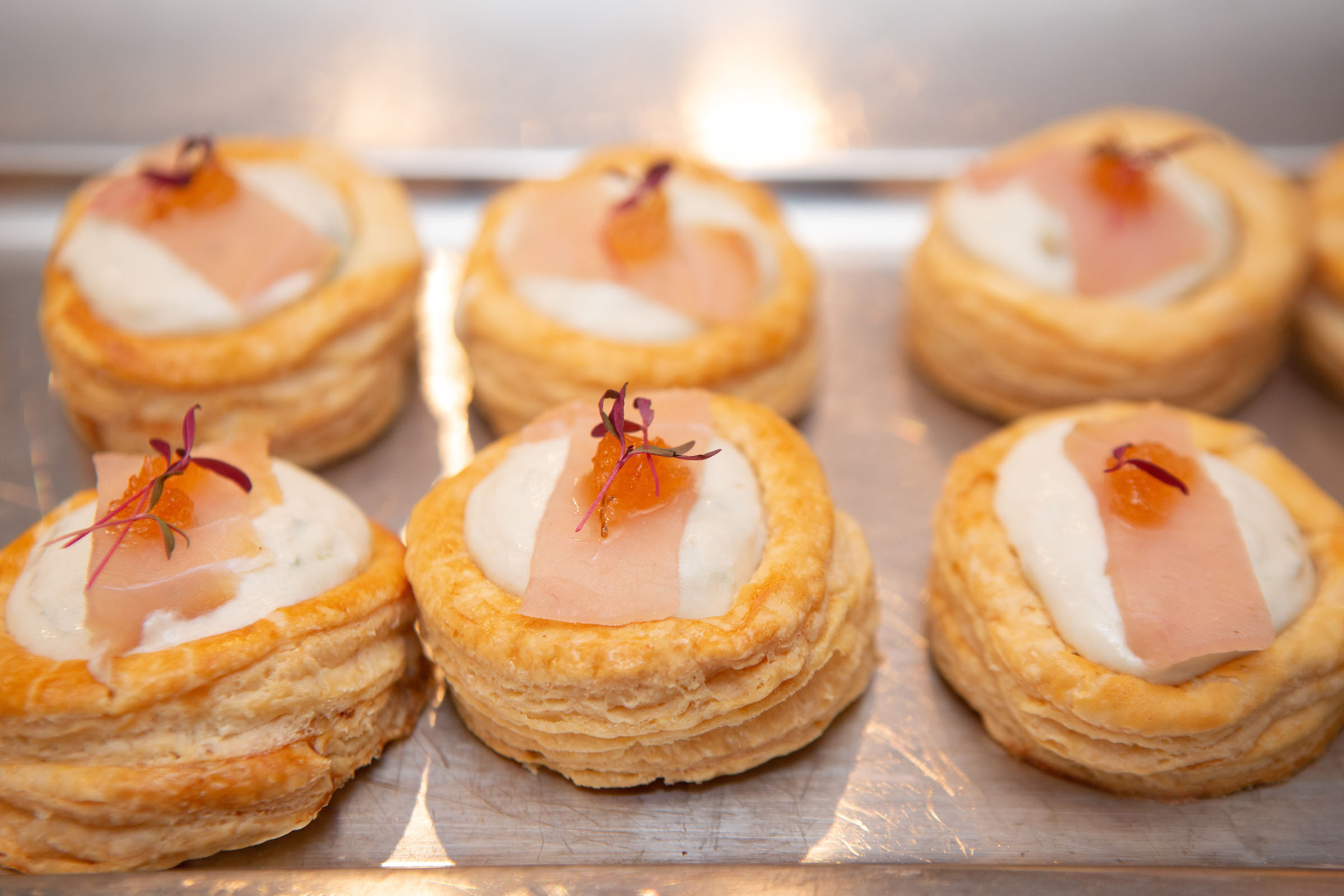 Smoked Marlin Vol-au-Vent -Chef Simo